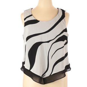 NWT R&M Richards Abstract Print Dress Blouse